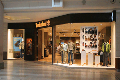 Timberland - Shop fit out